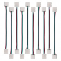 10Pcs 3Pin LED Strip Solderless Connector Conductor for WS2811 WS2812B SK6812