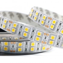 120 LEDs/M Double Row SMD5050 Flexible LED Strip Light DC 12V