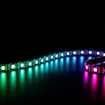16.4Ft Matrix WS2812B RGB LED Strip Pixel 60LEDs/m Addressable 5050 5V