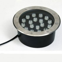 Waterproof 18W LED Underground Light Inground Ground Garden Path Floor Lamp
