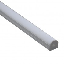 1M LED Profile Round Recessed Extruded Aluminum Channel 20Pcs