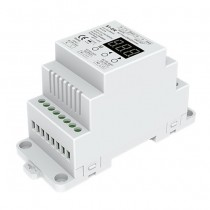2Channel DIN Rail AC Triac DMX Dimmer S1-DR For Led Strip Light Fixture