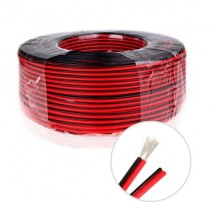2Pin Power Wire Cable Copper Core For Single Color LED Strip 20Meter