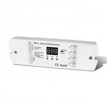 4CH Constant Voltage DMX512 RDM Decoder D4-L Controller