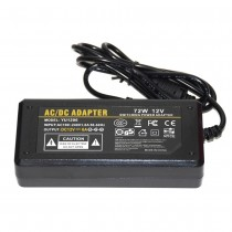 AC 110V 240V to 12V 6A 72W Power Supply AC to DC Power Adapter Transformer
