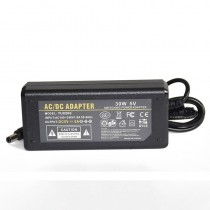 EU Plug AC 110V 220V to DC 5V 6A Power Adapter 30W LED Transformer