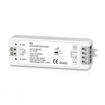DC 12-24V 2CH 5A Constant Voltage RF 2.4G Receiver V2 For LED Strip Light