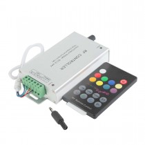 DC 12V 24V 3A 4CH 144W LED Music Controller with IR Remote control