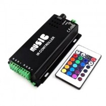 DC 12v 24v LED Music rhythm RGB Controller Sound Recognition