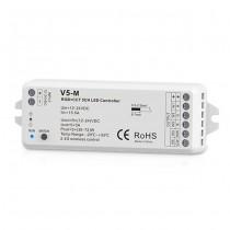DC 12-24V 5CH 3A Constant Voltage RF 2.4G LED Controller V5-M