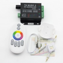 DC 12V 24V Music rhythm V2 RGB LED Controller Sound Recognition