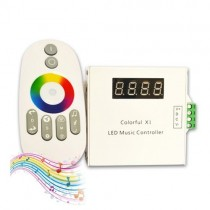 DC 12V 24V 33 Mode Wireless RF Touch Remote Touching LED Music Controller