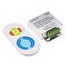 DC 12V 24V 12A Touch Panel 2.4G Wireless RF Color Temperature Touch Controller