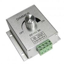 12V 24V 8A PWM Adjustable Brightness LED Switch Dimmer Controller 2pcs
