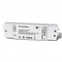 DC 12-36V 3CH Constant Current RF 2.4G Receiver C3 For RGB LED Strip Light
