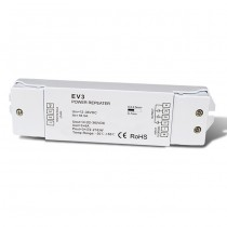 DC 12-36V 3CH Constant Voltage Power Repeater EV3 For RGB LED Strip