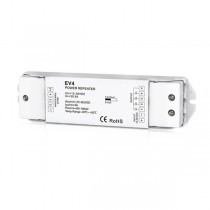 DC 12-36V 4CH Constant Voltage Power Repeater EV4 For RGBW LED Lamp