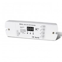 DC 12-48V 4CH Constant Current RF 2.4G Receiver C4-L For RGB RGBW LED Strip Light
