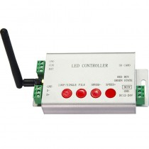 DC 5V 24V LED Digital WIFI DMX512 Controller 2048 Pixel Controlled By APP