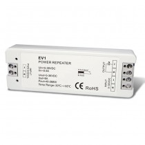 DC 5-36V 1CH Constant Voltage Power Repeater EV1 For Single Color LED Strip