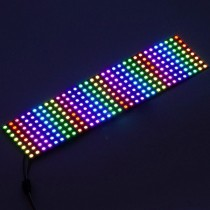 5V WS2812B Digital Addressable 8*32LED Flexible LED Display Screen 256 Pixels