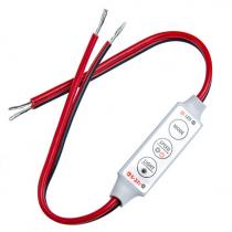 DC 5V 12V 24V Single Color LED Mini Dimmer Controller 4pcs