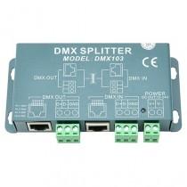 Euchips DMX103 Dmx Splitter 12-24v Amplifier Controller