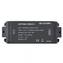 150W 24v 1-10V Driver EUP150A-1W24V-1 Euchips Led Controller