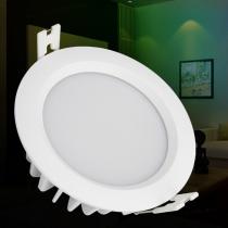 FUT063 MiLight 6W RGB+CCT Waterproof LED Panel Light Remote App Control Downlight