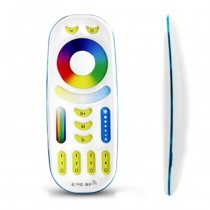 Mi Light FUT092 2.4G RGBWW RGB+CCT Remote Controller Full Touch 4-zone Group Control