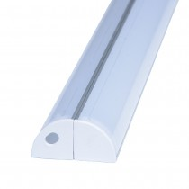 1M LED Corner Recessed Extruded Aluminum Channel Profile 20Pcs