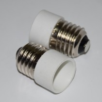 10Pcs E27 to E14 Adapter Converter Base Holder Socket White Pottery And Porcelain