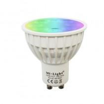 4W GU10 RGB CCT LED Dimmable 2.4G Wireless Milight Bulb Spotlight