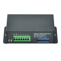PX24505 288-576W DMX Decoder DC 12v to 24v 4 Channels