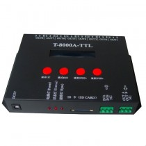 T8000A Pixel Light LED Controller T8000 SD Card Control Addressable 8192 Pixels