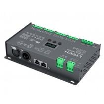 LTECH Dmx512 16CH Dmx Rdm Decoder LT-916-OLED 12v 24v Controller