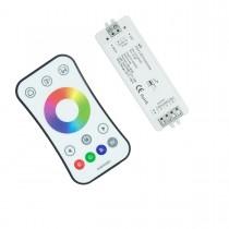 RGBW/RGB 2.4G RF Touch Wheel Remote Controller