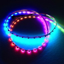 SK6812 RGB DC 5V 60LEDs Side Emitting Addressable LED Strip Lights 240 4020SMDs
