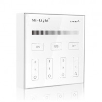 Milight T1 LED Controller Wall-mounted Brightness Dimming Smart Panel Remote Dimmer 2.4G