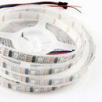 WS2801 DC 5V LED Strip Lights Programmable Pixel 160LEDs 16.4ft
