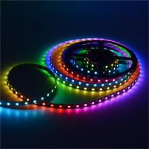 5M WS2812B LED Strip 16.4FT Individual Addressable 5050 RGB 5V Light
