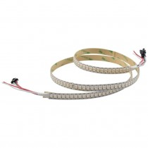 WS2812B LED Strip 3.2FT 1M 144Pixels/m Programmable Light DC 5V