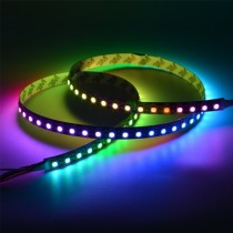 WS2812B LED Strip Lights 3.2FT 1M WS2812B 82 Pixels Individual Addressable 5V