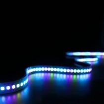 WS2813 LED Strip Dual Signal Addressable 5050 RGB Light 3.2ft 144LEDs DC 5V